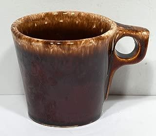 Vintage Mid Century HULL Brown Drip Mug