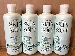 Lot of 4 Avon Skin So Soft Original Body Lotion 11.8 oz. Each.