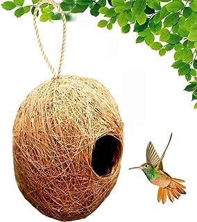 LIVEONCE Apple Bird nest Purely Handmadelove Birds/Sparrow/Small Birds,Material Type -Coir,Color -Brown, Size (H 13 cm,Dia...
