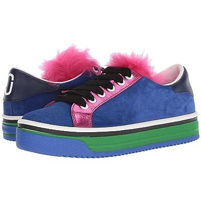 Marc Jacobs Love Empire Fur Sneaker (Blue Multi) Women
