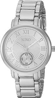ساعة اكس او اكس او للنساء XO199 بسوار فضى
