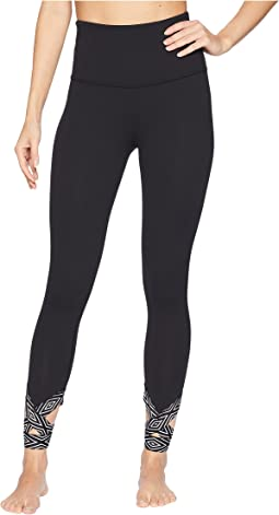 Badlands High-Waisted Strappy Midi Leggings