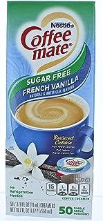 Coffee-mate SF French Vanilla Creamer.375oz, 50/Box