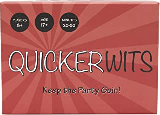 Quickerwits Party Card Game: Keep The Party Going!