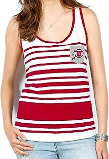 NCAA Women's Variegated Stripe Pocket Tank