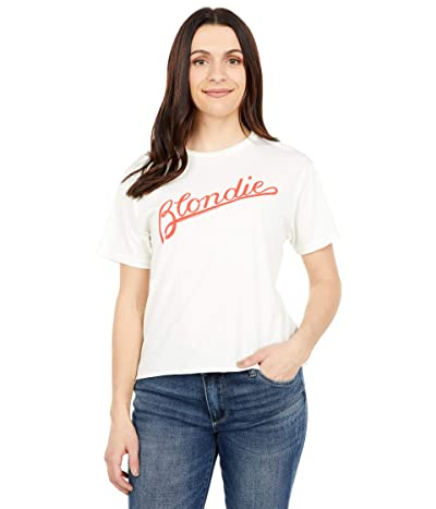 The Original Retro Brand Oversized Slightly Cropped Premium Black Label Blondie Tee
