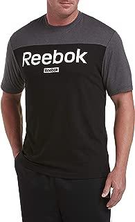 Retro Colorblock T-Shirt, Heather Grey/Blk