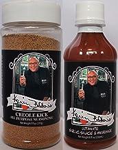 Chef Big Kevin Belton's Cajun Creole Cooking Bundle - 1 each of Creole Kick Seasoning (11 Ounces) and Ultimate Garlic Sauce (8 Fluid Ounces)