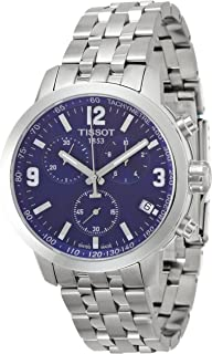 T055.417.11.047.00 Mens PRC 200 Stainless Steel Chronograph Dive Swiss Made Watch
