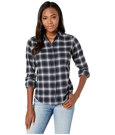 Fjallraven Ovik Flannel Shirt (Dark Navy) Women
