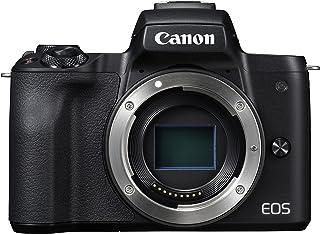 Canon EOS M50 Cuerpo MILC 241 MP CMOS 6000 x 4000 Pixeles Negro - Cámara Digital (241 MP 6000 x 4000 Pixeles CMOS 4K Ultra HD Pantalla táctil Negro)