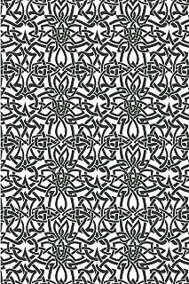 Viking Pattern - Celtic Pattern: Blank Lined Notebook for Norse Mythology Lovers