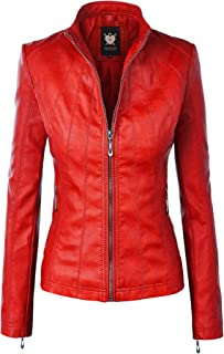 Best red leather coats Reviews