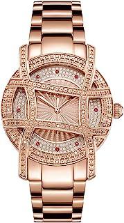 JBW Women's 10-Year Anniversary Olympia 0.20 ctw Diamond Wrist Watch with Stainless Steel Bracelet