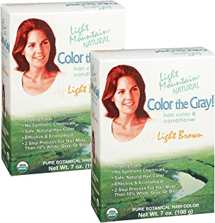 Best natural hair color for grey hair Reviews