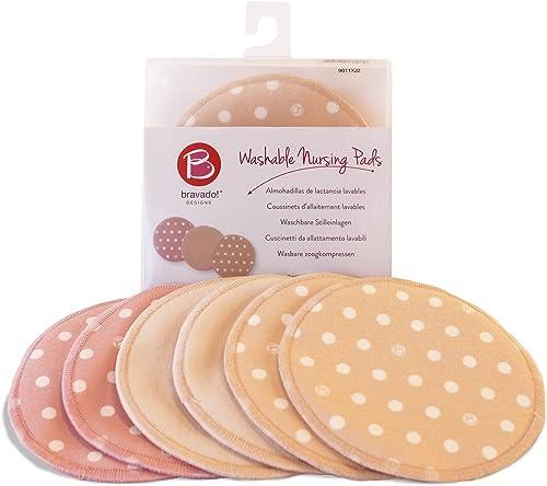 lowest BRAVADO! DESIGNS Women's Washable and Reusable Nursing Breast discount Pads outlet online sale (3-Pack) outlet sale