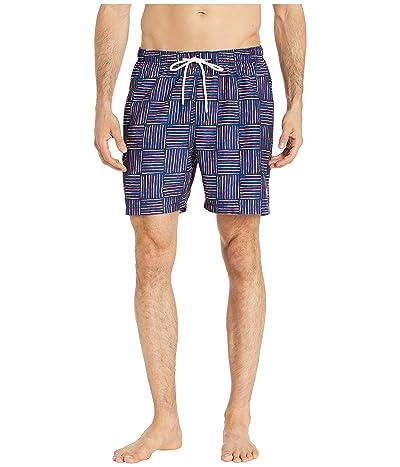 Tommy Bahama Naples Lei Como Check Swim Trunk (Kingdom Blue) Men