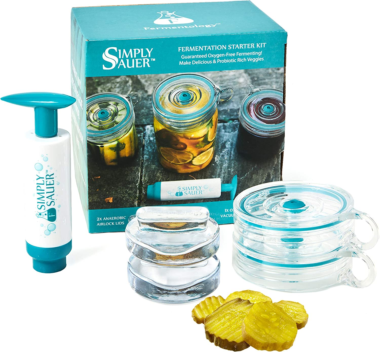 Fermentology Simply Sauer Fermentation overseas 25% OFF Starter Kit M - Wide Fits