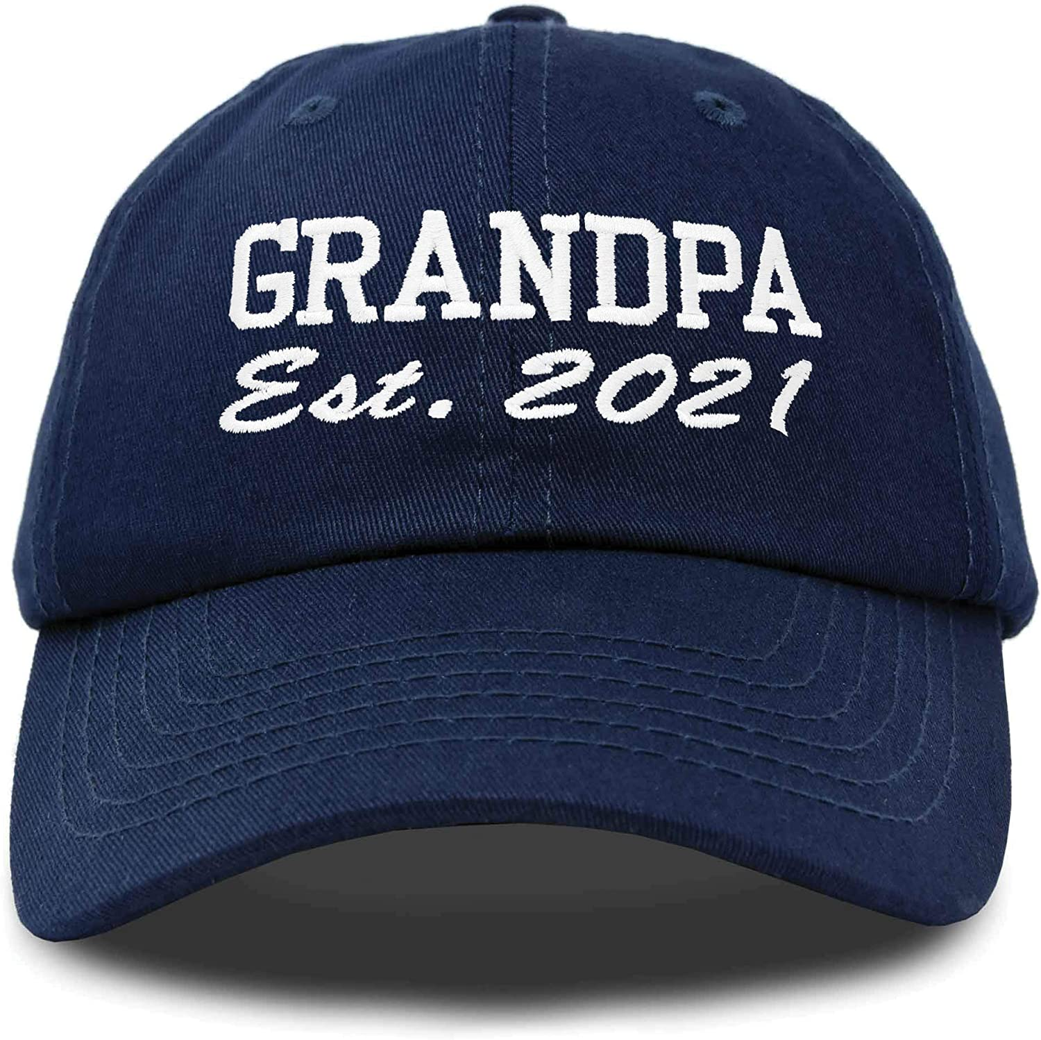 DALIX New Grandpa Hat Est Limited time sale 2021 Cott Dad Embroidered Fun Gift Free shipping on posting reviews