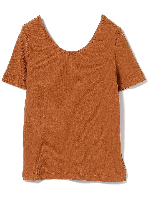 (レイビームス)Ray BEAMS/Tシャツ/ランダム テレコ ラウンドネック Tシャツ レディース