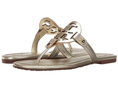 Tory Burch Miller Flip Flop Sandal (Spark Gold) Women
