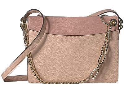 Vince Camuto Liya Crossbody (Sandcastle/Tea Rose) Cross Body Handbags