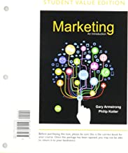 Marketing: An Introduction, Student Value Edition Plus 2017 MyLab Marketing with Pearson eText -- Access Card Package (13th Edition)