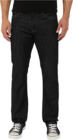 34 Heritage Courage Straight Leg in Rinse Mercerized T