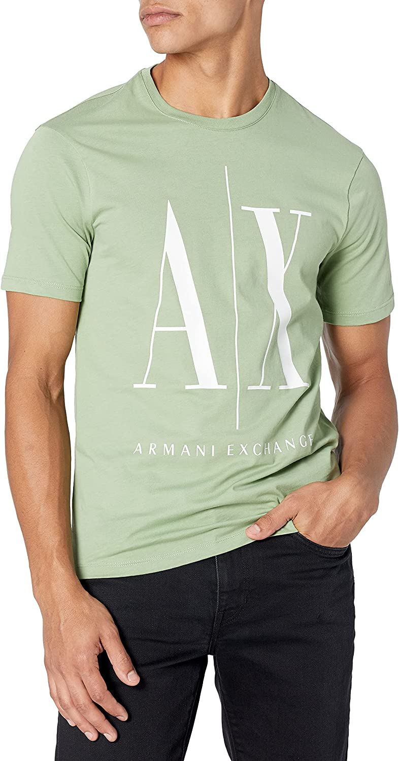 AX Some reservation Max 44% OFF Armani Exchange Men's A Sleeve L Short Icon x