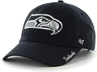 '47 NFL Sparkle Sequin Team Color Clean Up Adjustable Hat