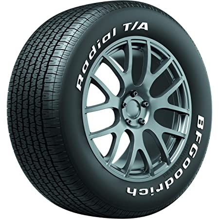 BFGoodrich Radial T/A All Season Car Tire for Passenger Cars, P225/70R14 98S