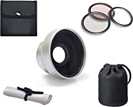 Olympus Stylus TOUGH TG-3 High Definition 3.0x Telephoto Lens (37mm) + 3 Piece Lens Filter Kit (40.5mm) + Lens Adapter (40.5mm) + Lens Ring (40.5-37mm) + Nw Direct Microfiber Cleaning Cloth