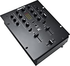 Numark M2 BLACK | Professional Two-Channel Scratch Mixer with 3-band EQ per Channel