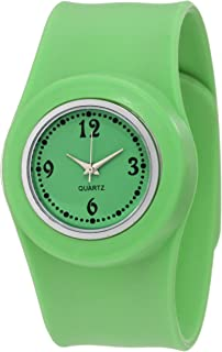 GGI International Kids' SLA-GREEN Slap On Silicone Watch