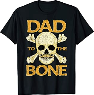 Homme Funny Dad To The Bone Pun Father's Dad Jokes T-Shirt