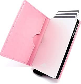 STEALTH Wallet RFID Card Holders - Smart Minimalist NFC Blocking Pop Up Wallets with Gift Box - Slim Lightweight Metal Cre...