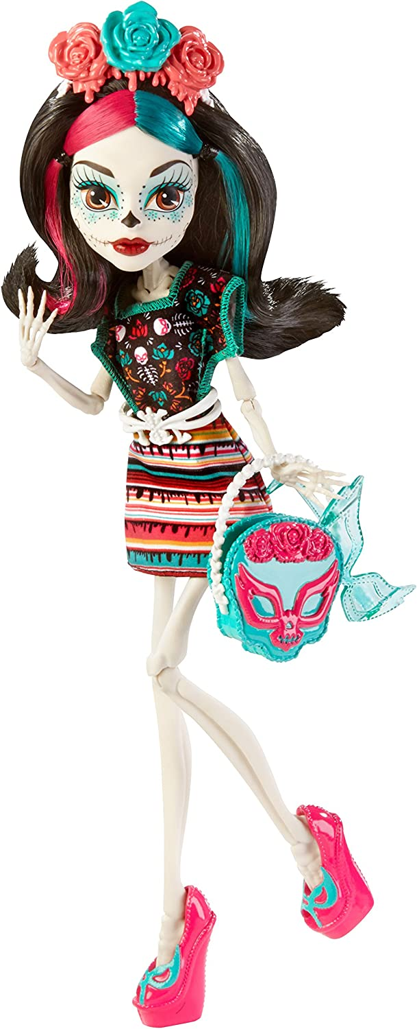Monster High Ghoul-La-La Locker Vehicle with Clawdeen Wolf Doll