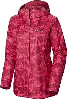 Columbia Women's Arcadia Print Jacket, Waterproof & Breathable