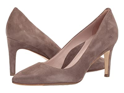 Taryn Rose Gabriela by Taryn Rose Collection (Taupe Suede) High Heels