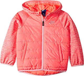 Nike Kids Womens Therma Fleece Quilted Jacket (Little Kids)