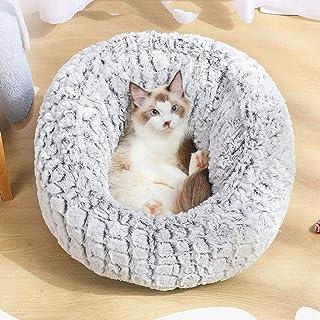 Warm Comfort Dog Round Cat Winter Sleeping Bag Long Plush Soft Pet Bed Bed