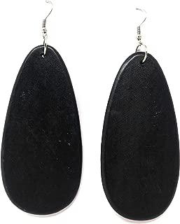 Best black wooden earrings Reviews