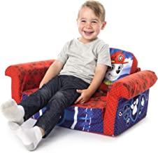Marshmallow Furniture, Children's 2-in-1 Flip Open Foam Sofa, Paw Patrol, by Spin Master