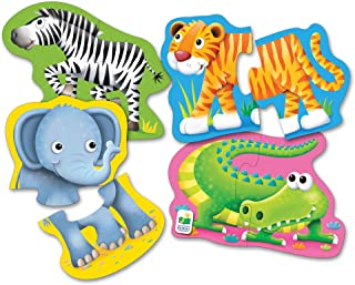 The Learning Journey My First Shaped Puzzles - Safari Friends!