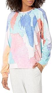 PJ Salvage Women's Loungewear Art Class Long Sleeve Top
