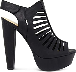 Best caged chunky heel shoes Reviews