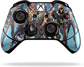Xbox One Wireless Controller Pro Console - Newest Xbox Controller Blue-Tooth with Soft Grip & Exclusive Customized Version Skin (Fortnite Blue) (1 - Pack)