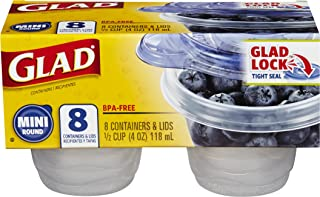 Best glad mini round containers Reviews