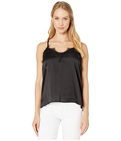 Bishop + Young Lace Detail Cami (Black) Women