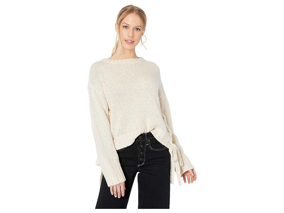 BB Dakota - BB Dakota All Tied Up Lace-Up Sweater